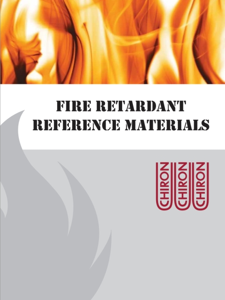 Fire Retardant Refernce Materials