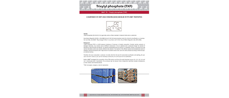 Newsletter 79- Trixylyl phosphate (TXP)