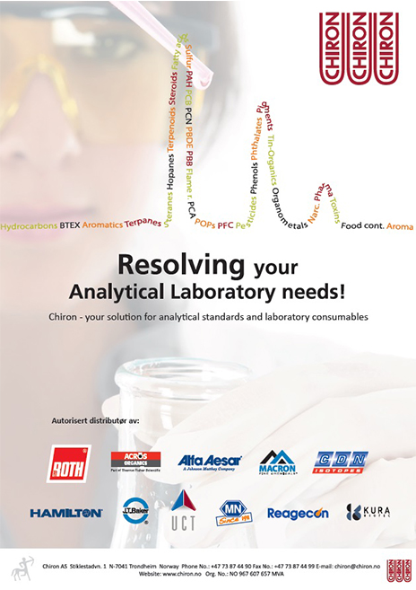 Chiron-Resolving your Analytical Laboratory needs!