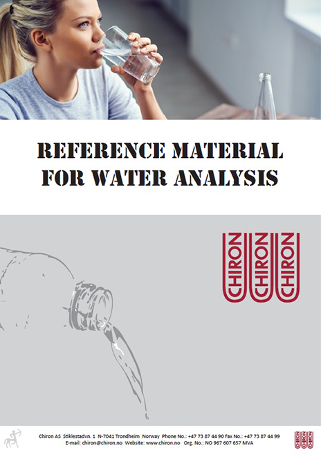 Reference Materials for Water Analysis