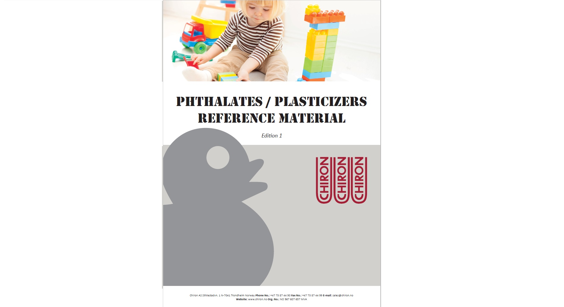 Phthalates/Plasticizers, Edition 1