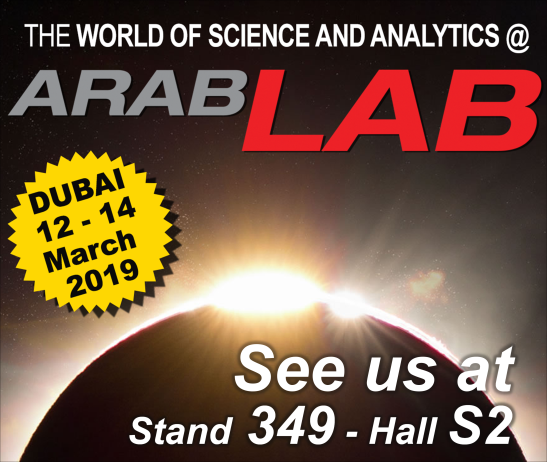 Chiron are exhibiting at Arablab