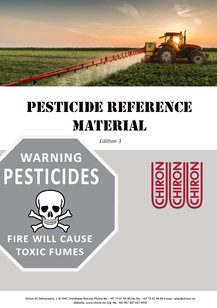 Pesticide Reference Material, Edition 3